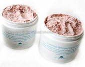 Luxurious Whipped Facial Soap With AHA & Austrialian Pink Clay - All Natural Soap, Handmade Soap