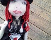Steampunk Artistic OOAK Doll