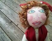 Kandy Christmas/Formal Artistic OOAK Doll