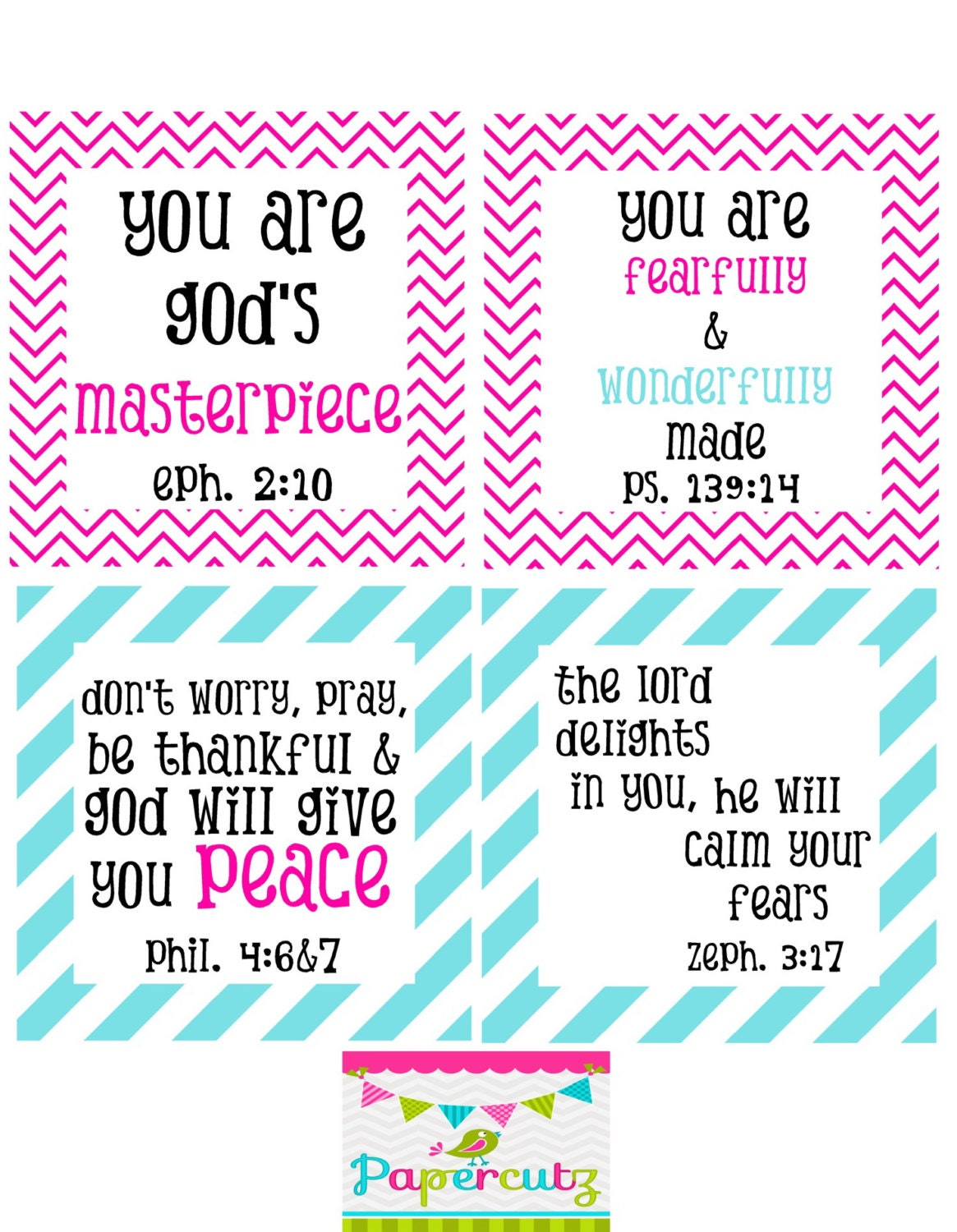 Eloquent image within printable encouragement cards
