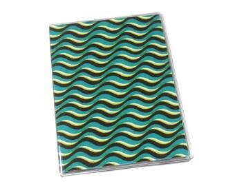 Passport Cover Waves