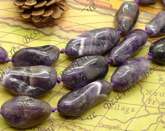 13x24-19x43mm of Natural amethyst nugget beads loose strands,quartz  loose semi-precious stone beads,loose strands