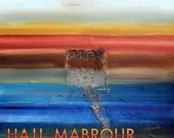 5x5 Hajj Mabrour Postcard