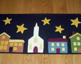 Towne Square Penny Rug