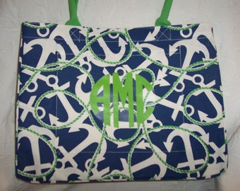 Personalized Anchors Weekender  Tote