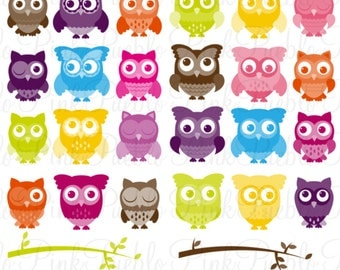 Cute Owl Photoshop Brushes, Owl Photoshop Brush - Commercial and Personal Use