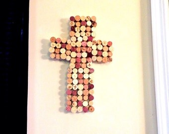 Wine Cork Cross