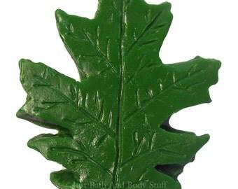 Oak Leaf Soap, Leaf Soap, Novelty Soap, Guest Soap