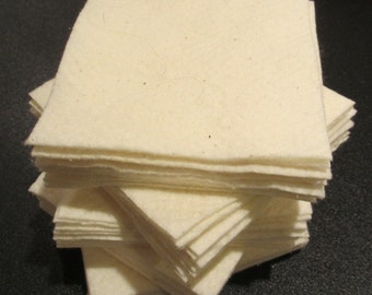 "50 - 5"" Warm and Natural Batting Squares"