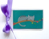 Cat Carrier Tag ~ Kitty Bag Tag
