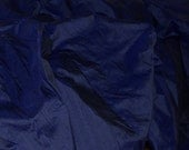 Silk Dupioni in  Navy Blue- Extra wide 54 inches Half Yard, DEX 201
