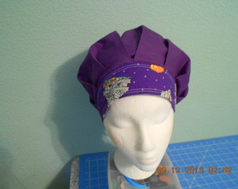 Halloween! FREE Shipping in U.S.!  Bouffant SURGICAL Scrub Hat..
