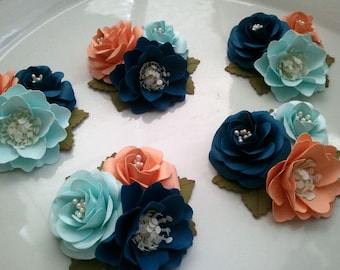 Wedding Corsages - Bridal Shower - Baby Shower - Boutonniere - Made To Order