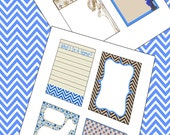 Project Life type Journal sheets DOGS LIFE 388 crafts, scrapbook cards,3x4 inch plus Chevron Printable sheet Tags Instant download