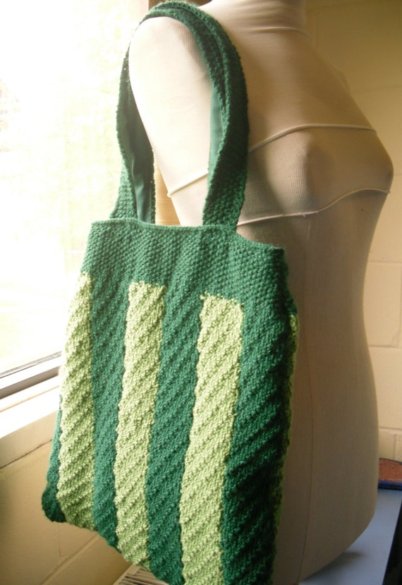 Knitting Needles Norwich : Knitting pattern travelling rib tote bag from kezylou on