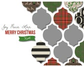 HOHOHO: Holiday Photo Card Printable or Professionally Printed Cards...