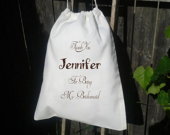 10x12 Drawstring Bags- Wedding Favor-Party Favor - Premium -Muslin Bag -Bridesmaid Thank you