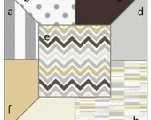 Window Panels Drapes River Rock Chevron