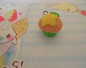 KH: Kingdom Hearts Paopu Fruit Cupcake Phone Charm