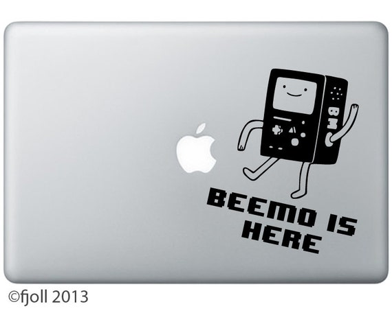 Beemo Is Here Decal Adventure Time