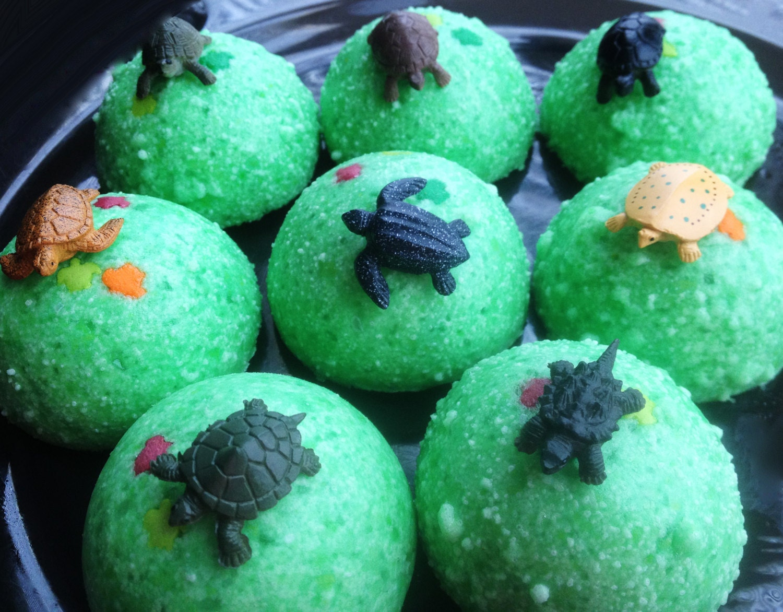 baby turtle egg bath bombs fizzy bath candy by bonbonbathhouse. Black Bedroom Furniture Sets. Home Design Ideas