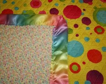 Quilted Floor/crib blanket.