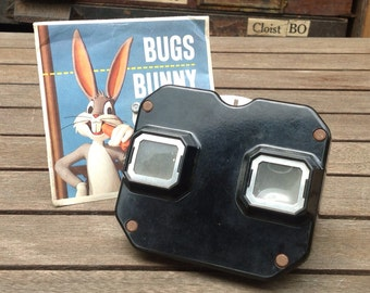 """FLASH SALE! 25% off when you enter """"25FLASH"""" - Vintage View Master with Bugs Bunny & Popeye"""