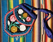 Native American beaded Whimsey bag purse