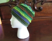 Twelve Color Hand Knitted Winter Cap Fits Most Adults All Wool Different Styles