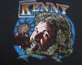KENNY ROGERS vintage 70s tour TSHIRT