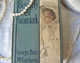 Antique Book Beverly of Graustark ca.1904 Victorian Romance Novel George Barr McCutcheon