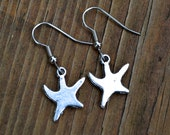 Falling Stars . Earrings . Silver . Starfish Collection