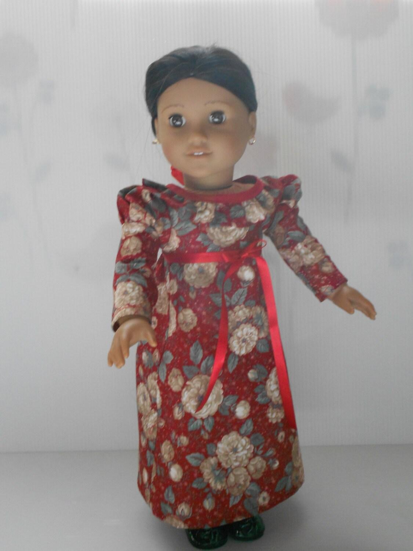 american girl doll josefina regency dress by decoloresdollfashion. Black Bedroom Furniture Sets. Home Design Ideas