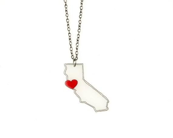 California (NorCal) Love Necklace
