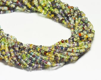"3mm 13"" line Mixed Gemstone beads Supreme quality MIXB05"