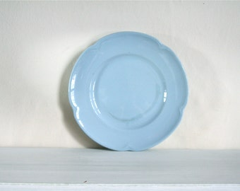 Vintage Johnson Brothers Greydawn Plate in Powder Blue