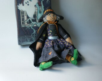 Vintage Hallmark Witch Doll