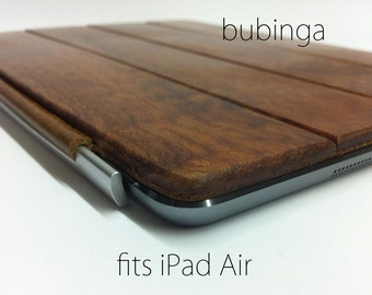 iPad Air 1 or 2 Smart Cover - Bubinga wood