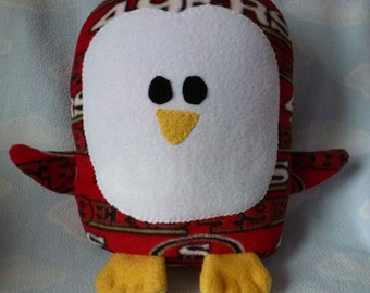 Plush San Francisco 49ers Penguin Pillow Pal
