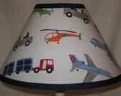 Brody Vehicles Children's Fabric Lamp Shade