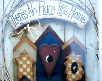Pattern Packet: There's No Place Like Home by Heart-N-Home Creations by Susan Takacs