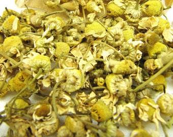 Dried Chamomile Flowers, Fancy Grade CULINARY Chamomile // 1/4lb, 1/2lb, 1lb, 2lbs, 3lbs, 4lbs, 5lbs
