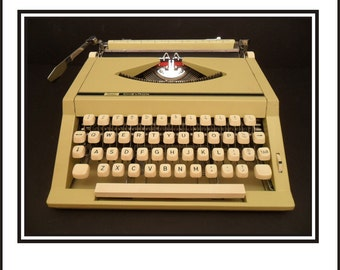 Sears Chevron Manual Portable Typewriter