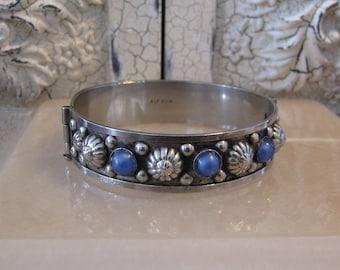 Vintage Alpacca Bracelet