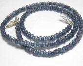 Matte Blue Lumi Farfalle Interchangeable Multi Necklace Strand