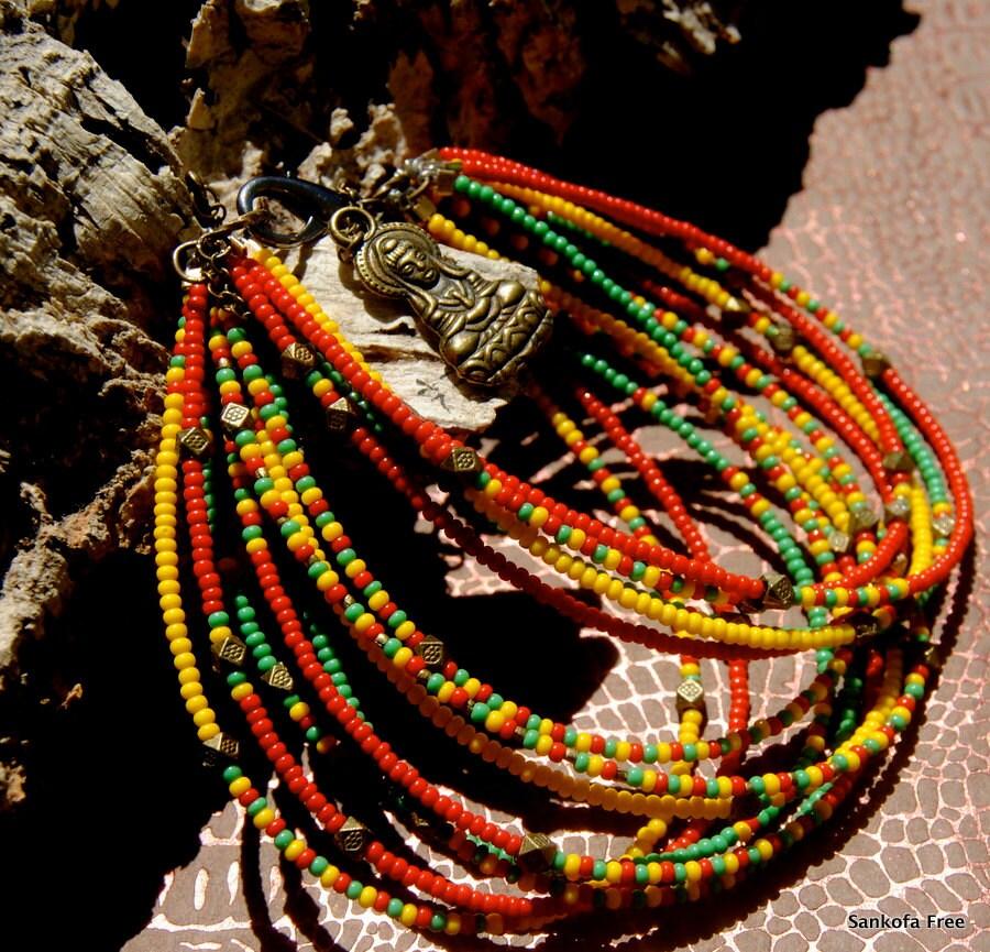 Holy Trinity Bracelet African Jewelry Ethnic Jewelry