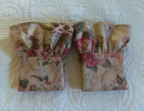 vintage ralph lauren bedding guinevere pair by boiserivergoods. Black Bedroom Furniture Sets. Home Design Ideas