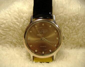 Vintage 1980s Element New York Quartz Watch