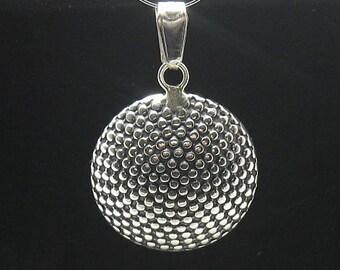 PE000570  Sterling silver pendant  handmade  925 solid