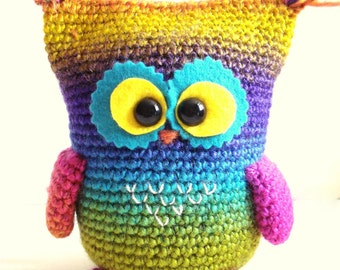 Crochet Pattern - Owl Pattern, Instant Download, Crochet tutorial, Crochet Owl, Owly